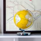 Globus podświetlany żółty - Wild & Wolf
