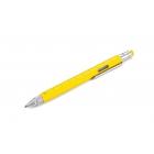 Construction długopis wielozadaniowy żółty TROIKA