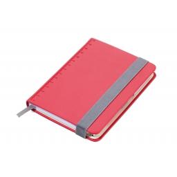 Notes z długopisem SLIMPAD A6 czerwony TROIKA