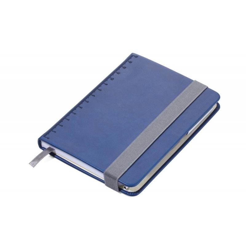 Notes z długopisem SLIMPAD A6 granatowy TROIKA