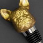Zatyczka do butelki buldog pies złota Iron & Glory by Luckies
