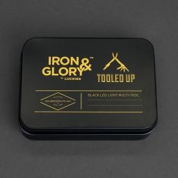 Narzędzie wielofunkcyjne srebrne IRON & GLORY by LUCKIES