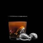 Granaty metalowe kostki do drinków