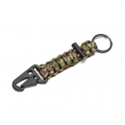 Brelok survivalowy Paracord Army green
