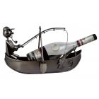 Stojak na butelkę wędkarz na łodzi