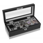 Designerskie etui na 5 zegarków GEORGE Mele & CO.
