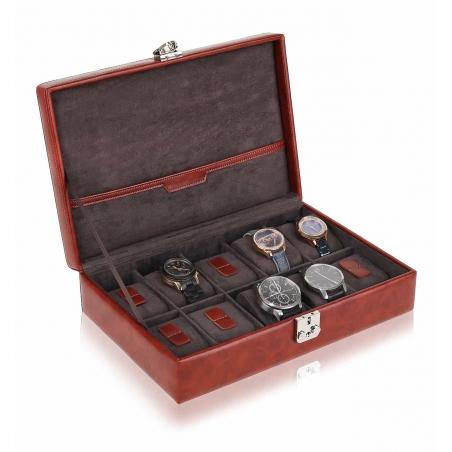 Pudełko na zegarki skórzane 10szt. na kluczyk BLAKE Mele & CO.