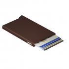 Etui na karty Cardprotector brązowy- SECRID