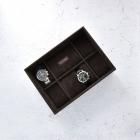 Etui na 8 zegarków brązowe Stackers
