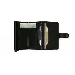 Portfel Miniwallet Crisple Black - SECRID