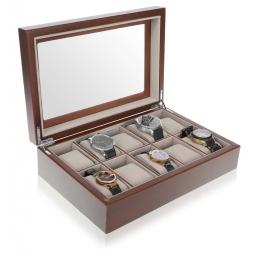 Luksusowe pudełko na 10 zegarków CONNOR Mele & CO.