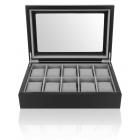 Luksusowe pudełko na 10 zegarków Nathan Mele & CO.