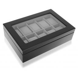 Drewniane pudełko na zegarki