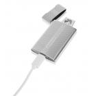 Zapalniczka elektryczna USB srebrna Chigwell Silver Match