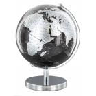 """Globus czarno-srebrny 6"""" Sarome UK"""