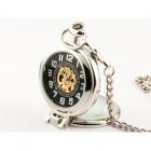 Elegancja w Srebrze zegarek kieszonkowy
