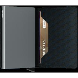 Portfel Slimwallet Optical Black-Titanium SECRID