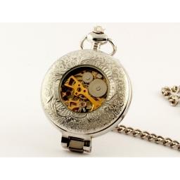 Wyjątkowy zegarek kieszonkowy na łańcuszku