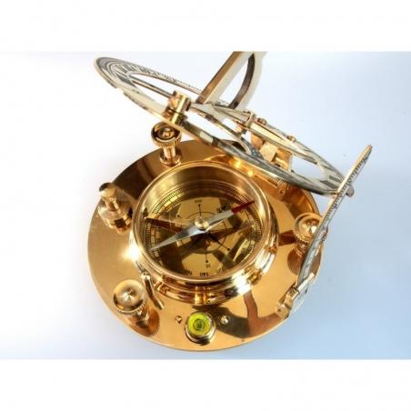 Big Round Kompas z zegarem słonecznym