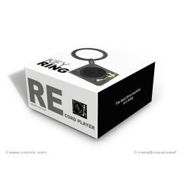 Pudełko do breloka gramofon czarny