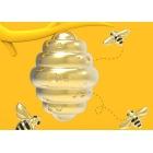 Brelok do kluczy pszczoła