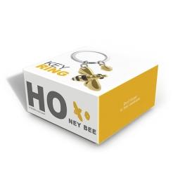 Pudełko brelok do kluczy pszczoła