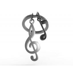 Brelok breloczek do kluczy nuta dla muzyka - MTM