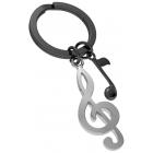 Brelok breloczek do kluczy nutka prezent dla muzyka