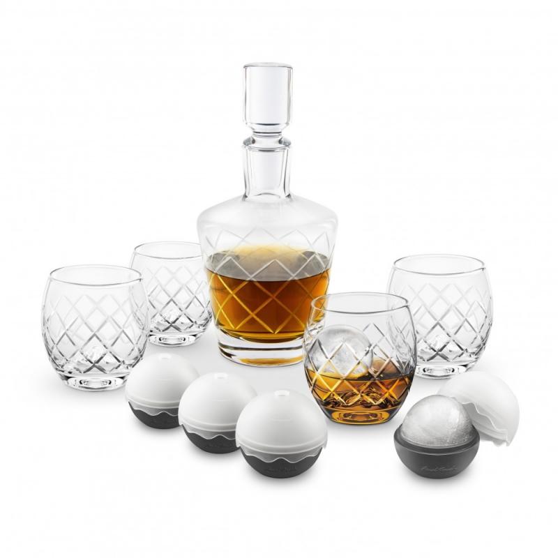 Luksusowy zestaw do whisky z karafką