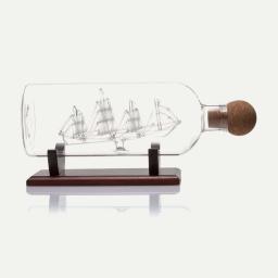 Karafka statek w butelce