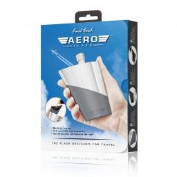Podróżna piersiówka Aero Final Touch w opakowaniu