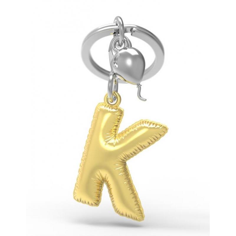 Brelok do kluczy litera K