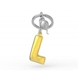 Brelok do kluczy litera L