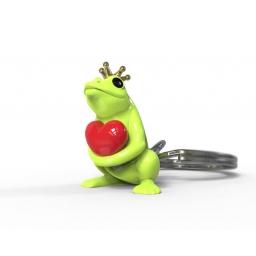 Brelok do kluczy żaba - Metalmorphose