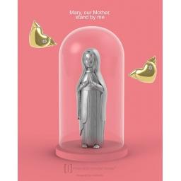 Matka Boża brelok do kluczy