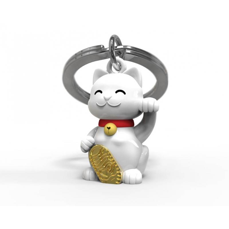 Brelok kot na szczęście maneki neko - Metalmorphose
