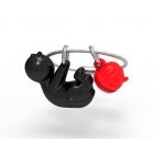Brelok kot czarny - Metalmorphose