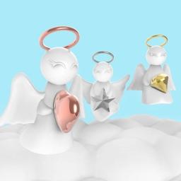 Brelok do kluczy aniołek fortuna