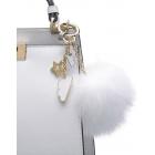Zawieszka do torebki chmurka z pomponem