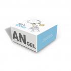 Brelok anioł cherubinek w pudełku