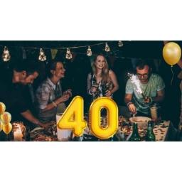 Prezent na 40 urodziny