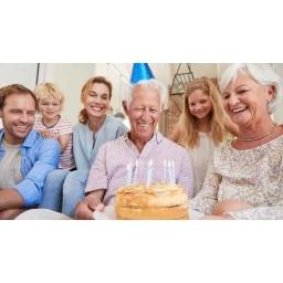 Prezent na 70 urodziny