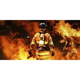 Prezent dla strażaka