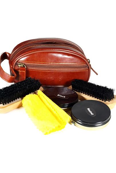 zestawy do czyszczenia butów